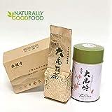 Yan Hou Tang Organic Top Grade Premium Taiwan Da Yu Ling Oolong Tea King Imperial Royal Green Jade Loose Leaf - Fragrance Taste Formosa Mountain Raw Low Fermented High Caffeine Exquisite Box Jar