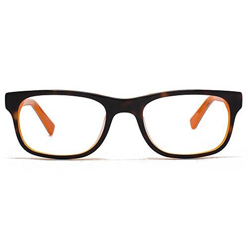 Hook LDN Kashmir lunettes en écaille sur Orange HKS002-ORG clear