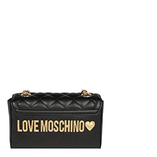 Galv Moschino Nero Love A Jc4207pp05ka Borsa Mano Oro wTRaXxFqda