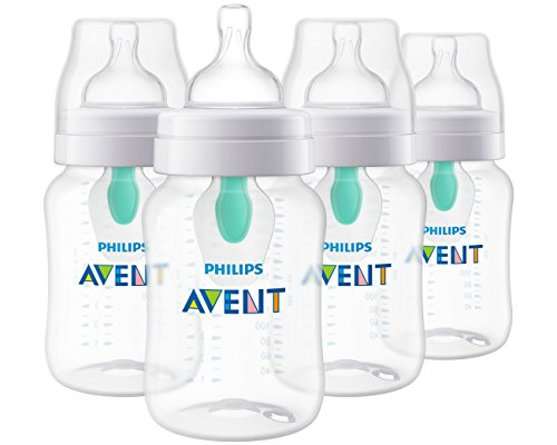 Philips Avent Anti-Colic Baby Bottle with AirFree Vent 9oz,