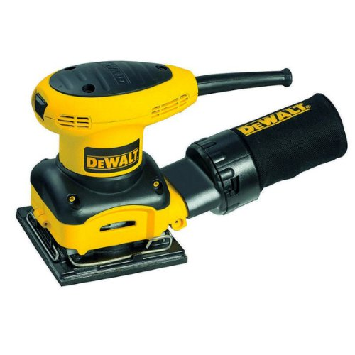 Price comparison product image DEWALT D26441 2.4 Amp 1 / 4 Sheet Palm Grip Sander with Cloth Dust Bag