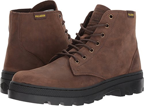 Palladium Mens Pallabosse Mid Chukka Boot Chocolate/Black 6hBRZH8
