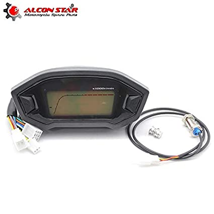 Instrumentos|ATV motocicleta LCD velocímetro digital ...