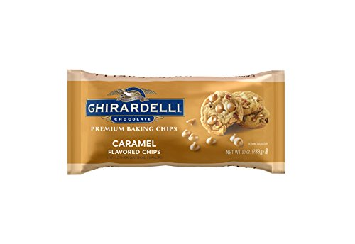 Ghirardelli Caramel Flavored Baking Chips, 12 Count