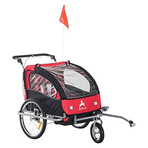 Double Stroller Swivel Front Wheel - 4