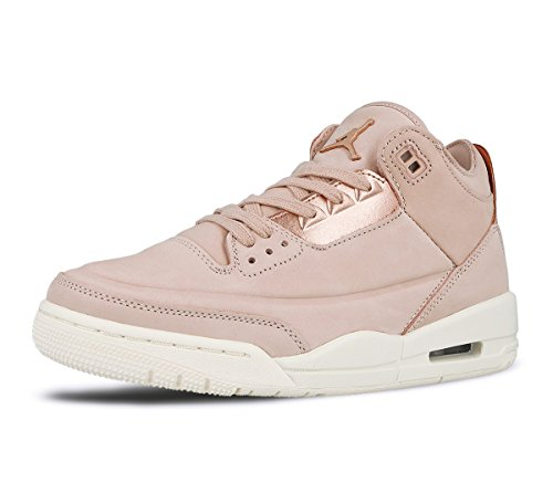 SE Jordan MTLC sail Mtlc Particle Beige WMNS Bronze Air 3 Beige Retro RED Women's Bronze Particle Red nHwrRBqHxX