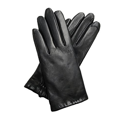 womens-i-touch-lambskin-leather-gloves-medium-black