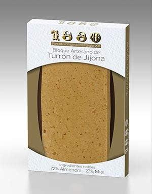 Turrón de Jijona Artesano 1880 Receta S.XV 1880 220g: Amazon.es: Alimentación y bebidas