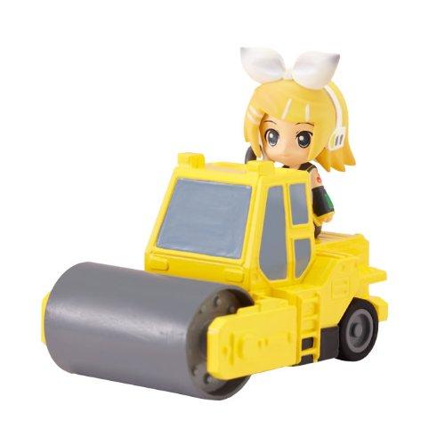 ねんどろいどぷらす ボーカロイド 激走プルバックカー リン&ロードローラー(イエロー)の商品画像