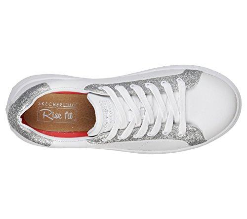 De 35 Wsl Skechers Zapatillas Material Blanco Para Eu Sintético Mujer C5p7qxB5