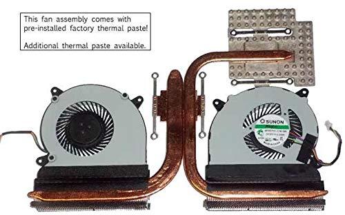 Comp XP New Genuine FH for Asus N550JK Dual Fan and Heatsink 13NB04L1AM01011 13N0-QXA0101