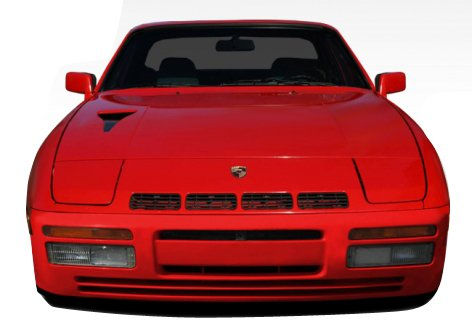 Duraflex Replacement for 1977-1988 Porsche 924 Turbo 944 Look Front Bumper Cover - 1 Piece ()