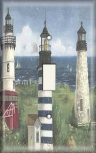Decorative Light Switch Plate Cover - More Lighthouses