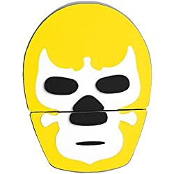 By Mexico USB modelo Máscara de Luchador Amarillo 8 GB