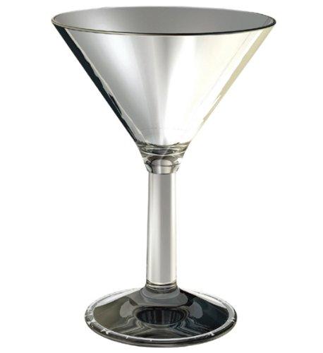 Cambro BWM10CW135 Aliso Clear 10 Oz. Martini Glass - 12 / CS