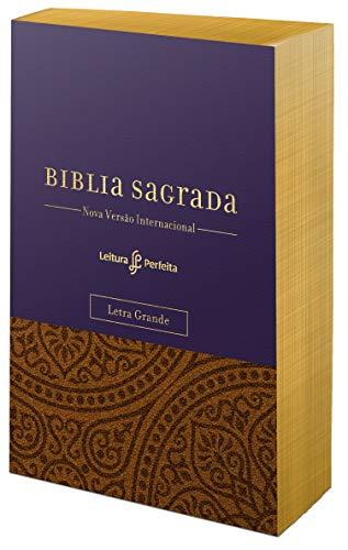 Sua Bíblia. Letra Grande. Capa Roxa
