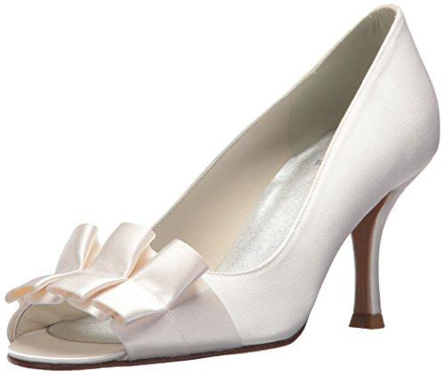 Stuart Weitzman Bridal & Evening Collection Women's Gigiritz, White Satin, 7 N - Stuart Weitzman Evening Shoes