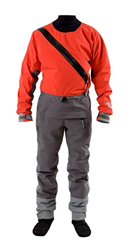 ernova Angler Paddling Suit-Red-M ()