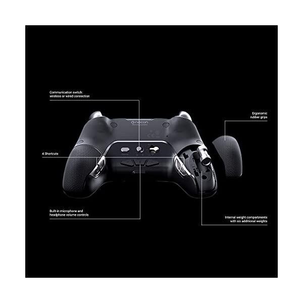NACON Controller Esports Revolution Unlimited Pro V3 PS4 Playstation 4 / PC - Wireless/Wired - Nacon-311608 5