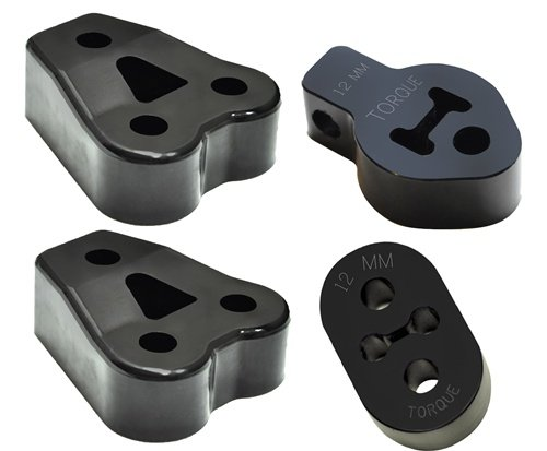 TORQUE SOLUTION EXHAUST HANGER MOUNT KIT Fits MITSUBISHI EVOLUTION EVO X 2011 11