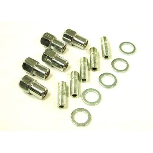 Appletree Automotive Chr Mag Whl Lug Nut & Stud 12M Compatible with VW & Dune Buggy