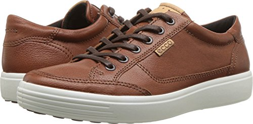 (ECCO Men's Soft 7 Sneaker, Cognac, 46 M EU (12-12.5 US))