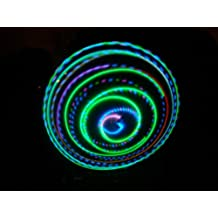 """36"""" - 12 Strobing/Color Changing/Solid Color LED Hula Hoop - Neon Paradise"""