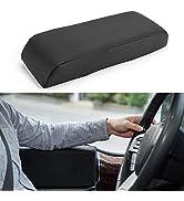 "ISSYAUTO Universal Car Door Armrest Support Pads, Car Armrest Cushion 14.96"" x 5.12""x2.5"""
