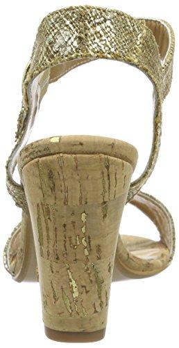 GARDENIA COPENHAGEN 762 - Sandalias con Cuña Mujer Dorado (EL/S)