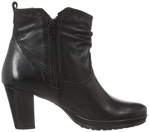 Tamaris 1-1-25021-25 003 - botas de cuero mujer negro - Schwarz (Black Leather 003)