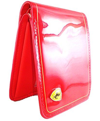 Ferrari StarGaze Red Men #39;s Wallet