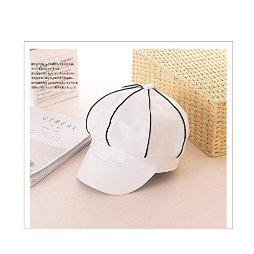MingDe Sports Retro Ladies Snapback Cap Casual Hat Pu Octagonal Cap Newspaperboy Hat Autumn -