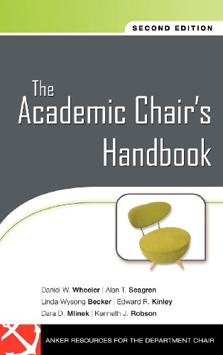 The Academic Chair's Handbook