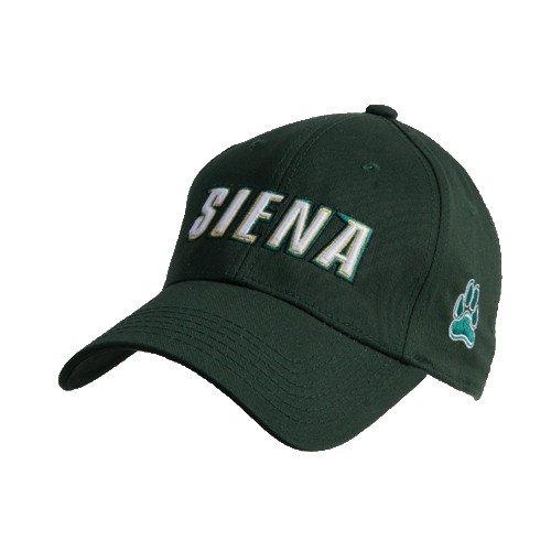 CollegeFanGear Siena Dark Green Heavyweight Twill Pro Style Hat 'Siena'
