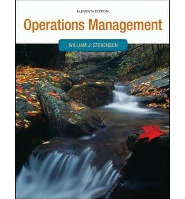 Operations management stevenson 11th edition