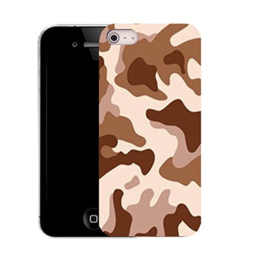 Mobile Case Mate iPhone 5c clip on Silicone Coque couverture case cover Pare-chocs + STYLET - desert cammy pattern (SILICON)