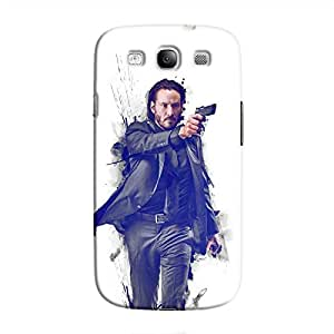 Cover It Up - John Wick Fade Galaxy S3 Hard Case