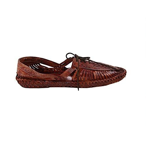 KOLHAPURI CHAPPAL Pantofole Uomo Rosso Red Brown