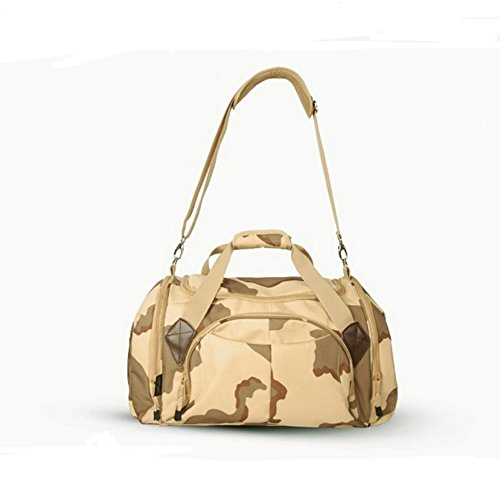 Tote de Generic bolsa Light Bolsas Camouflage Camouflage deportes al viaje Jungle Mountineering 45L aire libre Grey UqX18xwq