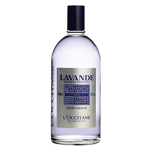 - L'Occitane Lavender Eau de Cologne Enriched with Lavender Essential Oil, 10.1 fl. oz