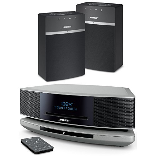 bose wave soundtouch iv platinum silver soundtouch 10. Black Bedroom Furniture Sets. Home Design Ideas