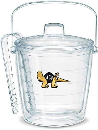 (Tervis 1049672 UC Irvine Anteaters Ice Bucket with Emblem and Clear Lid 87oz Ice Bucket, Clear (Renewed))