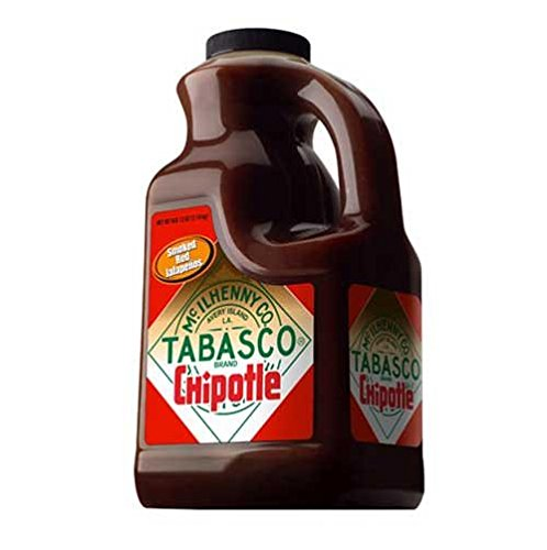 TABASCO Chipotle Pepper Sauce - Half Gallon (64 (Tabasco Chipotle)