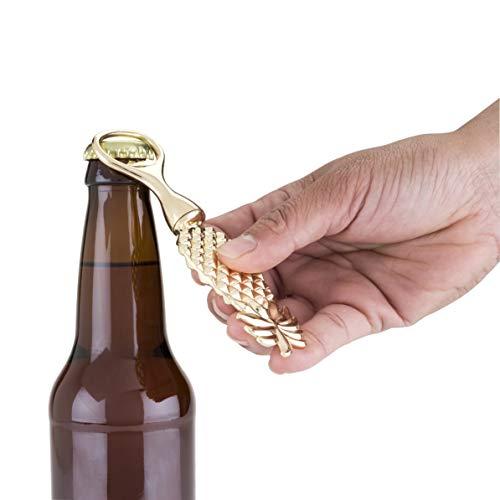 Blush 5117 Aloha Pineapple Bottle Opener, Gold