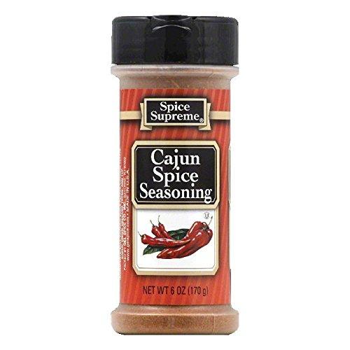 UPC 076114307403, Spice Supreme Cajun Spice, 6-Ounce (Pack of 12)