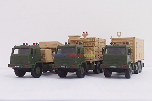 Diecast Tank Set of 3 Iron Dome Israel Missile Def Launcher Radar (2007 David Irons)