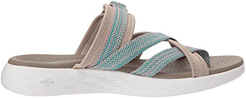 Sandals The Go 600 on Taupe 15308 Glow Skechers O6UWPP