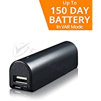 Small Voice Activated Digital Audio Recorder | Super Long 150 Day Standby Battery Life/14 Day Continuous | 576 Hr Storage Capacity 16GB | Functional Portable Phone/Device USB Charger/Power Bank