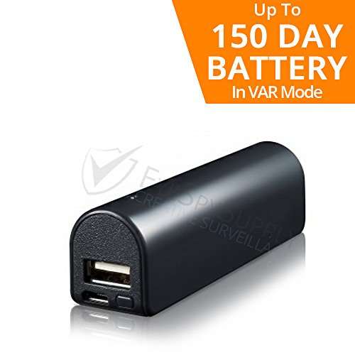 Price comparison product image Small Voice Activated Digital Audio Recorder / Super Long 150 Day Standby Battery Life / 14 Day Continuous / 576 Hr Storage Capacity 16GB / Functional Portable Phone / Device USB Charger / Power Bank