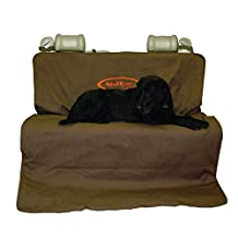 Mud River Brown Two Barrel Double Seat Cover, Regular/56-Inch X 68-Inch